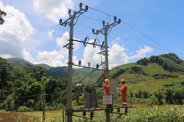 越南全面完成向100%个乡供电 hinh anh 1