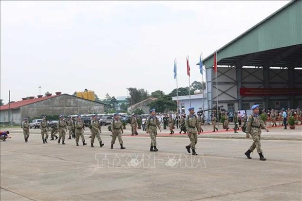 越南维和力量:充分体现越南地位的国防外交烙印 hinh anh 1