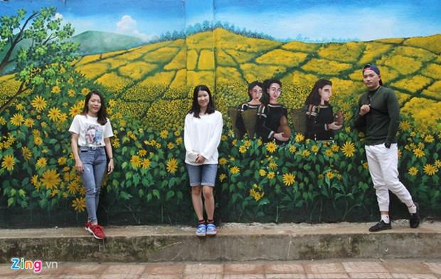 西原壁画街 ——2019己亥春节的新娱乐目的地 hinh anh 1