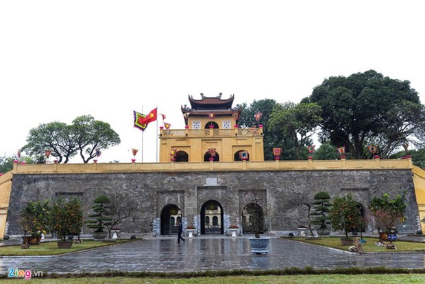 升龙皇城的敬天正殿将于2020年修复 hinh anh 1