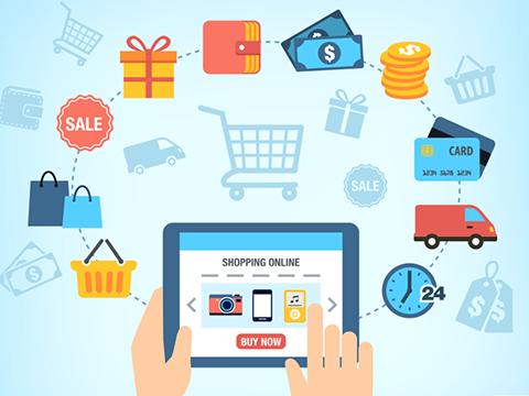 电子商务蓬勃发展:货物质量管理成难题 hinh anh 1