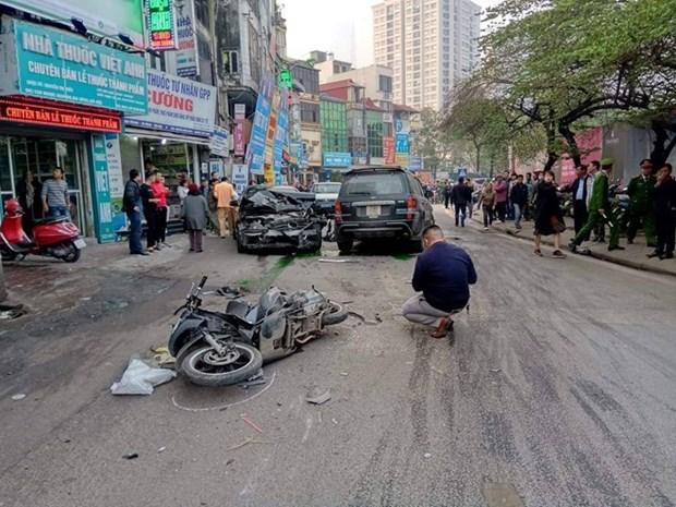 春节假期第五天发生27起交通事故 死亡人数达19人 hinh anh 1