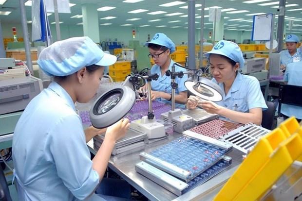 越南各工业园区企业入住率超过73% hinh anh 1