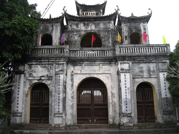 赤腾文庙——兴安省好学传统发源地 hinh anh 1
