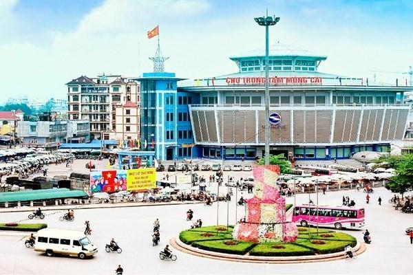 腊月28日至春节初二芒街国际口岸接待游客多达1.8万人次 hinh anh 1