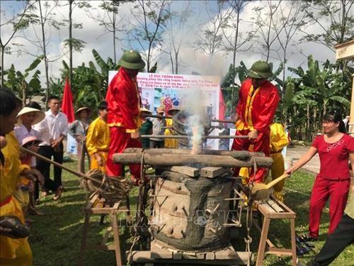 茶东村铸铜业被列入国家级非物质文化遗产名录 hinh anh 2