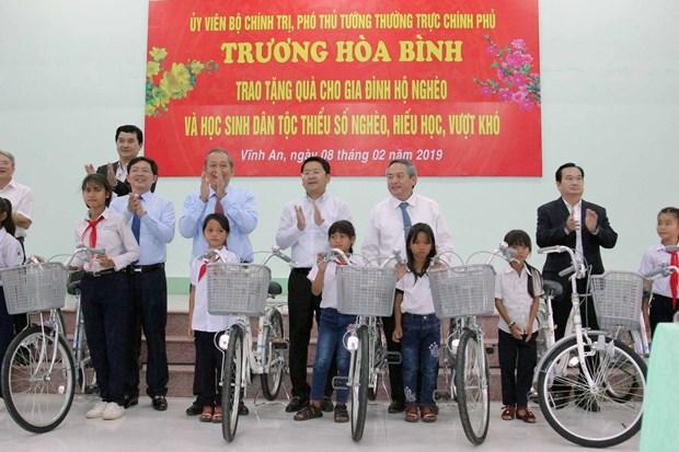 越南领导代表赴平定省出席玉回-栋多大捷230周年纪念典礼 hinh anh 2