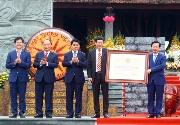 阮春福出席玉回-栋多大捷230周年纪念典礼 hinh anh 3