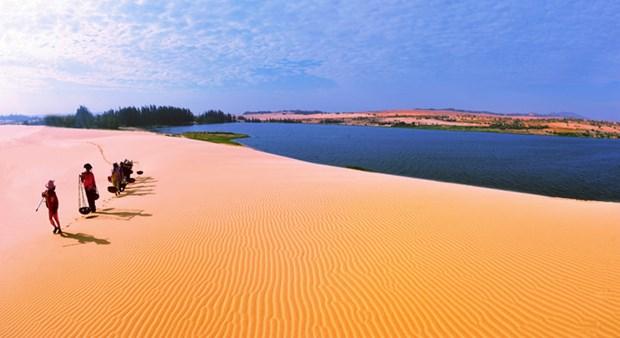 越南旅游:将平顺省美奈列入亚太地区前列目的地榜单 hinh anh 1