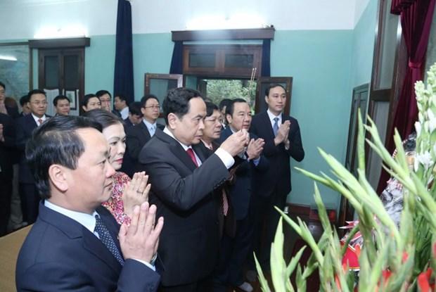 深情缅怀越南民族伟大领袖--胡志明主席 hinh anh 1