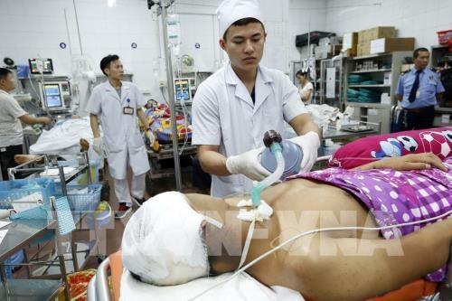2019年新年九天假期中:胡志明市各所医院为9.1215万人提供医疗卫生服务 hinh anh 1