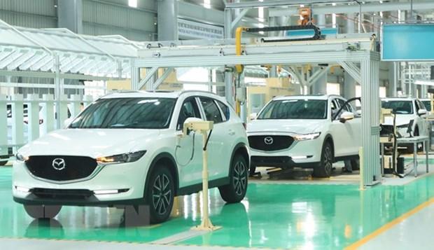 越南工贸部为汽车制造业提供支持 hinh anh 1