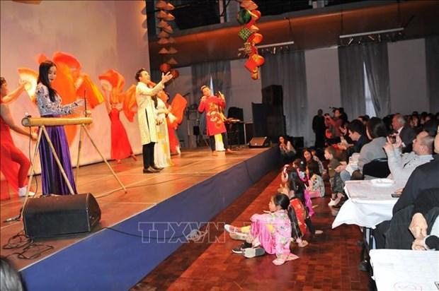 旅居比利时越南人社群欢庆新春 hinh anh 1