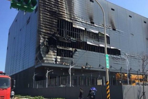 越南对在中国台湾遭受火灾的劳工进行领事保护工作 hinh anh 1
