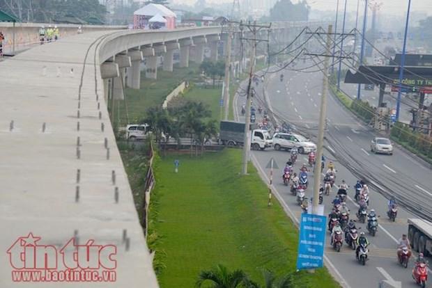 越南政府调整胡志明市两条城铁的投资额 hinh anh 1
