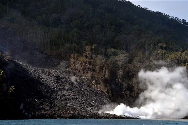 印尼疏散卡兰格唐火山附近地区1000余名居民 hinh anh 1