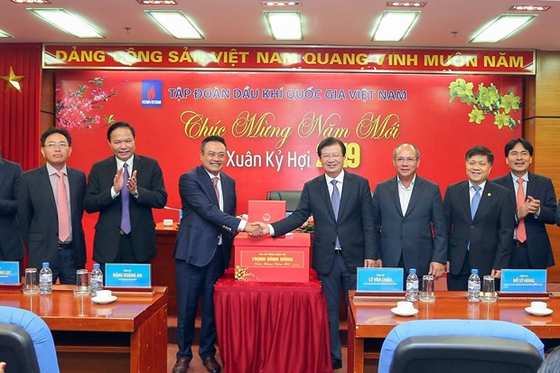 越南政府副总理郑廷勇走访越南油气集团 hinh anh 2