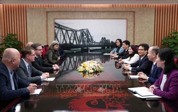 政府副总理武德儋:越南支持SOS儿童村采用家庭模式收养孤儿 hinh anh 1
