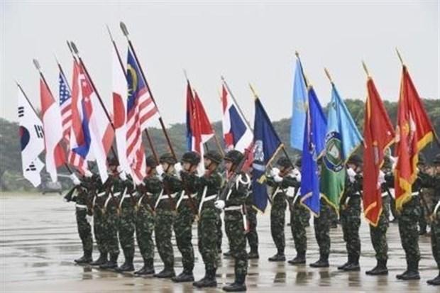 由美国和泰国联合举办的金色眼镜蛇联合军事演习开幕 hinh anh 1