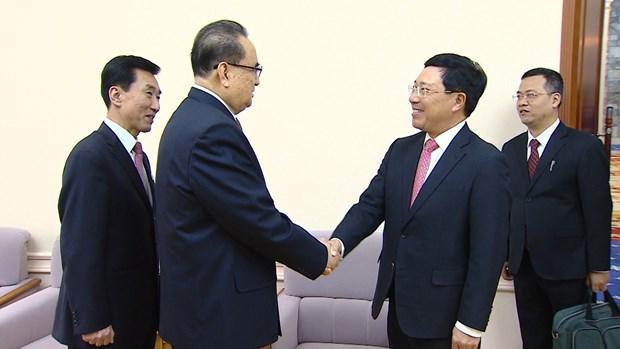 政府副总理兼外交部长范平明对朝鲜进行正式访问 hinh anh 1