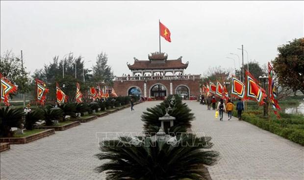 2019年太平省陈祠庙会即将开庙 hinh anh 1