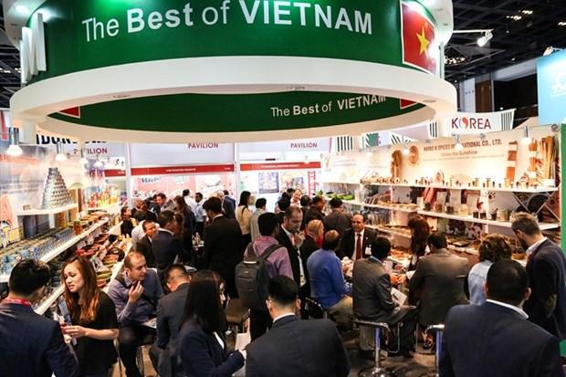 越南20家企业参加2019年阿联酋迪拜国际食品展 hinh anh 1