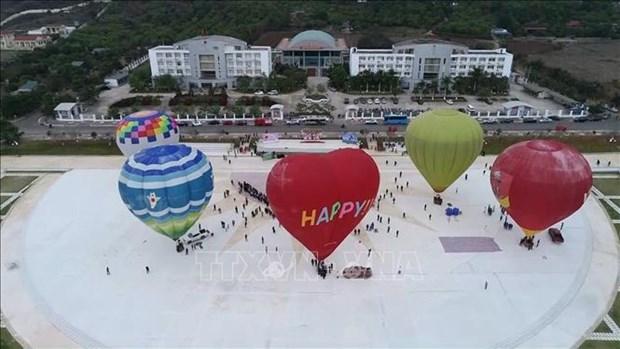 第二届国际热气球节在山罗省开幕 hinh anh 2