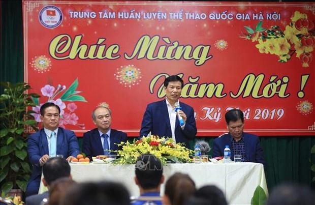 越南期望将夺得第30届东南亚运动会男足和女足冠军 hinh anh 1