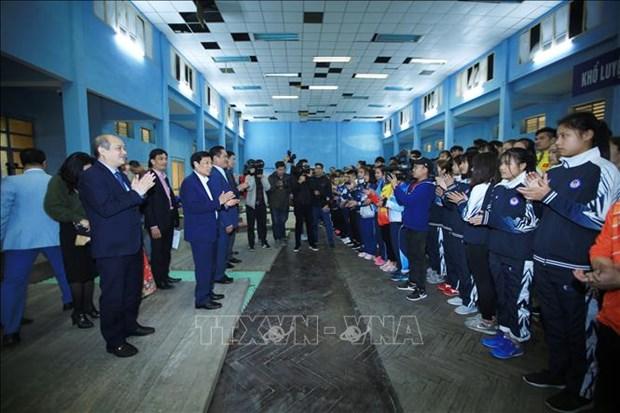 越南期望将夺得第30届东南亚运动会男足和女足冠军 hinh anh 2