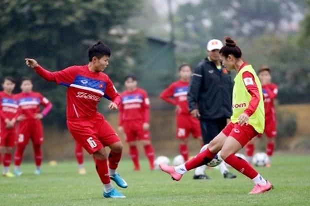 越南女足队将在2020年奥运女足亚洲区资格赛第二轮迎战约旦女足队 hinh anh 1