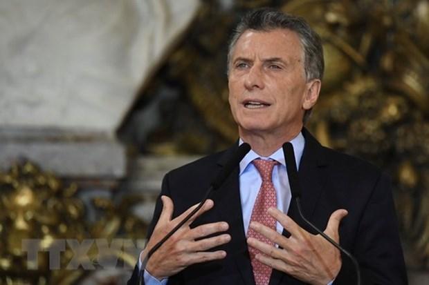 阿根廷总统毛里西奥·马克里即将对越南进行国事访问 hinh anh 1