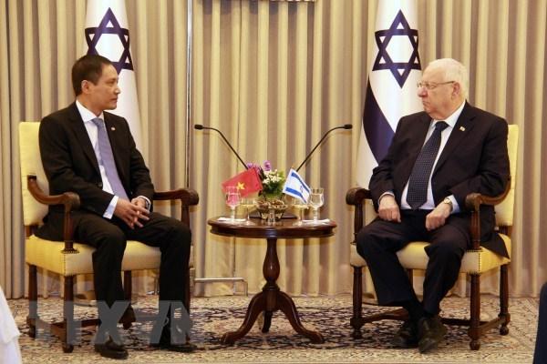 越南驻以色列大使向埃总统递交国书 hinh anh 1