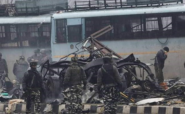 越南外长就印度恐怖袭击事件向印度外长致慰问电 hinh anh 1