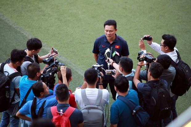 越南U22足球队今日启程前往柬埔寨参加2019东南亚U22锦标赛 hinh anh 1