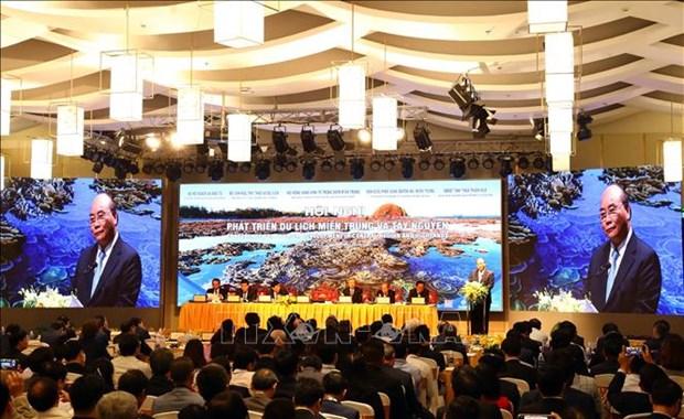 阮春福总理:越南中部西原地区的旅游潜力仍是一块未经抛光的宝石 hinh anh 1