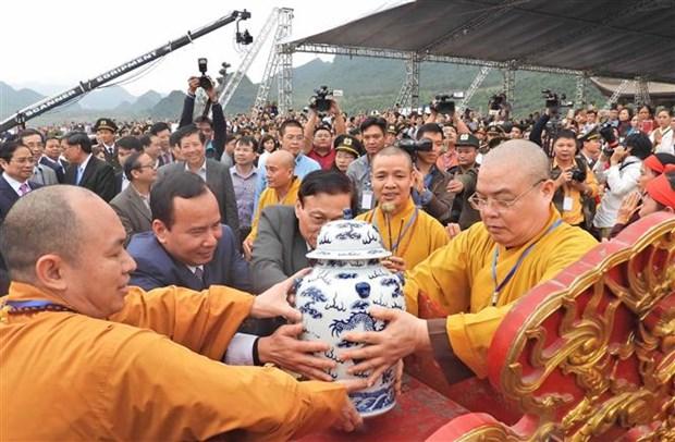 河南省三祝庙会正式开庙 hinh anh 2