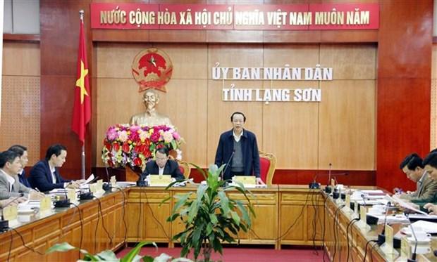 越南四省与中国广西壮族自治区联合工作委员会第十次会议各项准备工作已经就绪 hinh anh 1