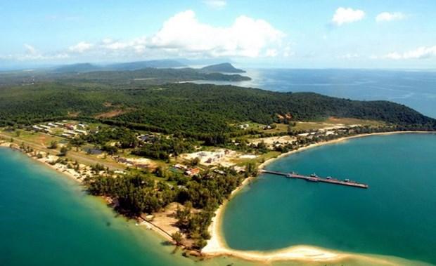 越南坚江省富国岛将旅游发展与环境保护两手抓 hinh anh 1