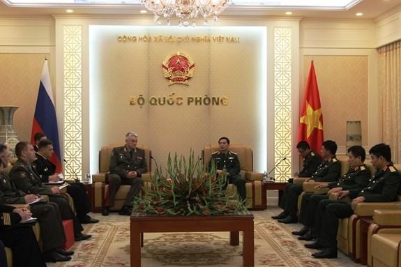 越南与俄罗斯军队加强合作 hinh anh 1