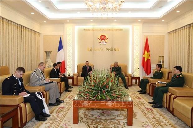 加强越南与法国的防务合作 hinh anh 1