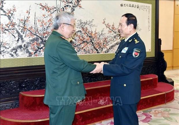 越南国防副部长阮志咏访问中国 hinh anh 1