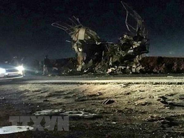范平明就伊朗恐怖袭击事件向伊外交部长致慰问电 hinh anh 1
