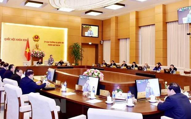 越南第十四届国会常委会第31次会议明日开幕 hinh anh 1