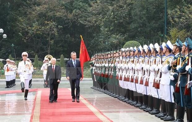 阿根廷总统毛里西奥·马克里对越南进行国事访问 hinh anh 1