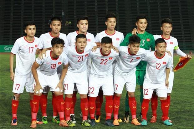 东南亚U22足球锦标赛:越南队4-0大胜东帝汶队晋级半决赛 hinh anh 2