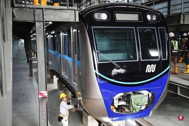 地铁系统有助于改善印尼的交通面貌 hinh anh 1