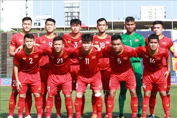 东南亚U22足球锦标赛:越南队以0:0与泰国队持平 名列A组榜首 hinh anh 1