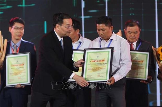 524家企业荣获2019年越南优质产品称号 hinh anh 1
