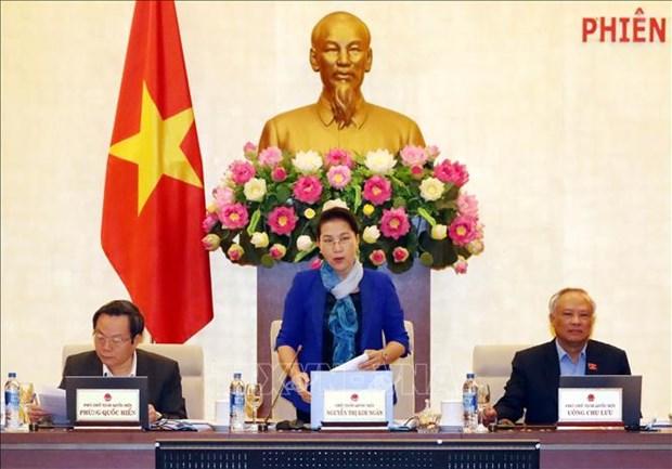 越南国会常务委员会第31次会议正式开幕 hinh anh 2