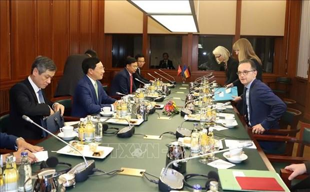 越南与德国加强在多个领域的合作 hinh anh 1
